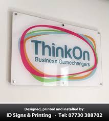 inspirational signs for office. Frosted-Flame-Polished-Acrylic-office-door-business-exterior-. Inspirational Acrylic Business Signs For Office