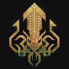 <b>Golden Kraken Sigil</b> | Slim Fit T-Shirt | <b>Kraken</b> art, <b>Kraken</b>, Cthulhu ...