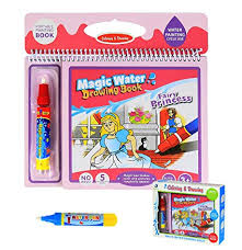 bblike magic water drawing book water colouring doodle book for kids on the go