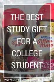 the best study gift for a college student coffee with summer