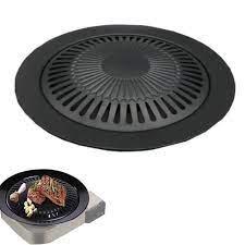 Kore barbekü tepsisi açık kaset fırın ızgara tavası yapışmaz yuvarlak –  Grandado.com TUR