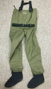 Ll Bean Waders Size Chart Ll Bean Kennebec Fly Fishing Stocking Foot Waders Zippered