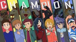 Pokemon League Champions in Anime - YouTube