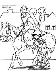 Sinterklaas Knutselen Sinterklaas Kleurplaten
