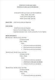 Blank Resume Forms To Print Sample Blank Resume Edit My Resumes Sample Blank Resume Forms To