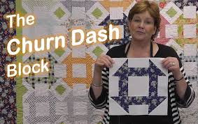 The Churn Dash Quilt Block - Easy Quilting - YouTube &  Adamdwight.com