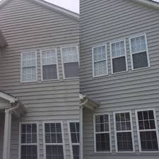 pressure washing charlotte nc. Wonderful Charlotte Vinyl Siding Pressure Wash Charlotte NC Before And After With Pressure Washing Nc