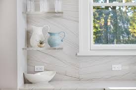 Lucite Floating Shelves Amazing Contemporary Kitchen