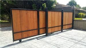 sliding fence gate image of sliding driveway gates design ideas sliding fence gate hardware wood sliding fence gate