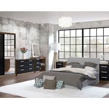 White And Walnut Bedroom Furniture  With White And Walnut - Black and walnut bedroom furniture