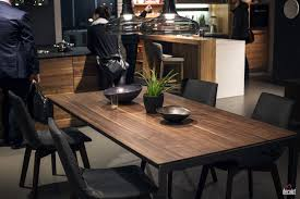 elegance view in gallery wooden dining table top