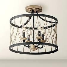 lamps plus ceiling light black bronze wide 4 light ceiling light led chandelier ceiling lights lamps plus