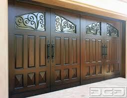 dynamic garage doorsMediterranean Revival 10  Custom Architectural Garage Door