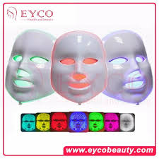 Beauty Face <b>Skin Rejuvenator</b> 7 Color <b>Light Therapy</b> Sound ...