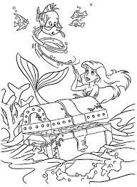 The Little Mermaid Coloring Pages Coloringpages1001com