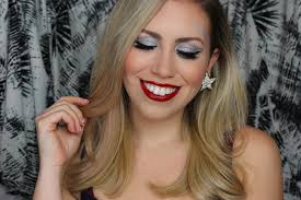 sparkle surprise crazy themed holiday party makeup