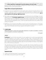 caribbean studies model essays  17