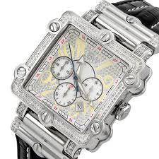 jbw phantom silver tone chronograph crystal dial silver tone steel jbw phantom silver tone chronograph crystal dial silver tone steel diamond men s watch jb