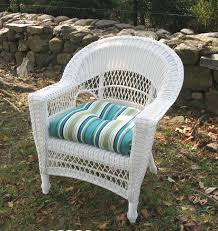 Barrel Chair Wicker Furniture Lloyd Flanders Replacement Cushions