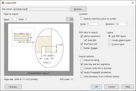 editing pdf and other drawing file