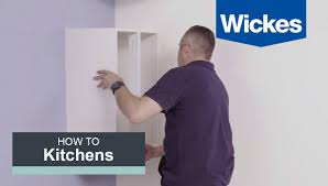Wickes Kitchen Wall Cabinets How To Hang Wall Cabinets With Wickes Youtube