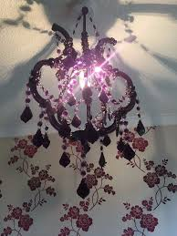 beautiful purple next chandelier light shade ceiling light