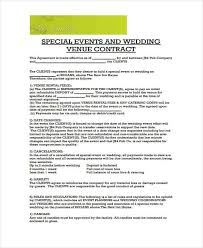 Catering Contract Samples Wedding Catering Contract Sample Leyme Carpentersdaughter Co