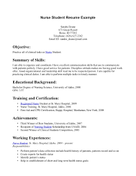 Cover Letter College Student Example Resume College Student Resume