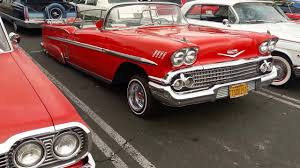 1958 Chevy Impala rag top Lowrider - YouTube