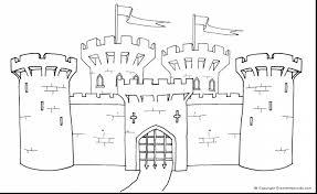 Small Picture amazing medieval castle coloring pages with castle coloring page