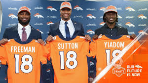 Broncos - Royce Isaac Yiadom Freeman Press Conference Denver Sutton Youtube Courtland abfaecbb|13, 2019, In East Rutherford, N.J