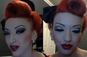 part 1 modern vine pinup makeup tutorial