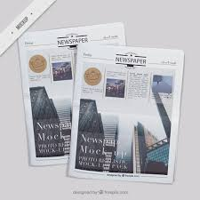 Newspaper Vectors Photos And Psd Files Free Download