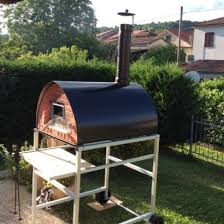 large wood fire oven mobile pizzone