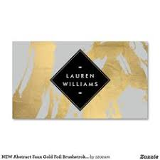business cards interior design. Contemporary Interior Edgy Faux Gold Brushstrokes On Gray Business Card For Cards Interior Design D