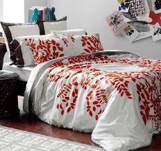 dwellstudio modern duvet covers chic bed linens bedding sets hedgerow persimmon duvet set
