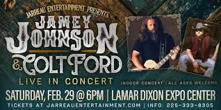Jamey Johnson Colt Ford Concert Tour Ascension
