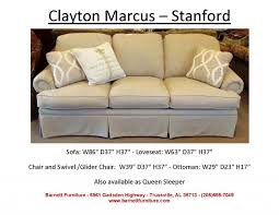 clayton marcus furniture clayton marcus sofas. Exquisite Sofa Length Wonderful Clayton Marcus Stanford With Panel Arm And Skirt Furniture Sofas