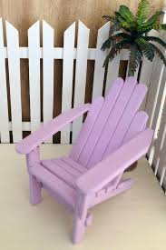 breathtaking mini chair unpainted wood doll house fairy garden mini adirondack chairs wedding favors