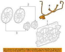 buick gm oem 2010 lacrosse 3 0l v6 engine cooling fan wiring image is loading buick gm oem 2010 lacrosse 3 0l v6