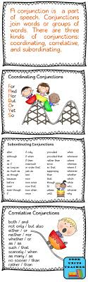 Parts of Speech ~ Conjunctions - Book Units Teacher