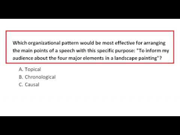 Topical Organizational Pattern Magnificent Which Organizational Pattern Would Be Most Effective For Arranging