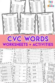 CVC Words - Fun with Mama