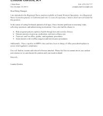 Cover Letter For Nurse Manager Cover Letter For School Nurse