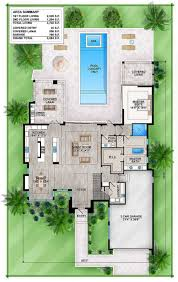 master down modern house plan with outdoor living room 86039bw incredible