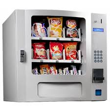 Tabletop Snack Vending Machine Custom Seaga SM48S Countertop 48 Select Snack Vending Machine With Coin