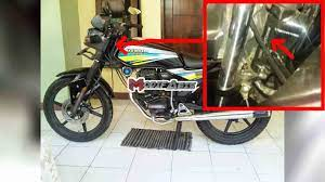 Letak Nomer Mesin Dan Nomer Rangka Honda Gl Max 100 Cc Terlengkap Modif Abis