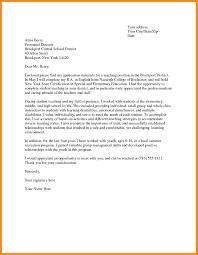 6 Sample Teacher Cover Letter Azzurra Castle Grenada