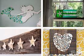 18 seaside wall decor 29 beach crafts coastal diy wall art mcnettimages com