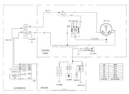 briggs and stratton power products 030680 00 3,500 watt briggs 21 HP Briggs and Stratton Wiring Diagram Briggs Wiring Schematic #23